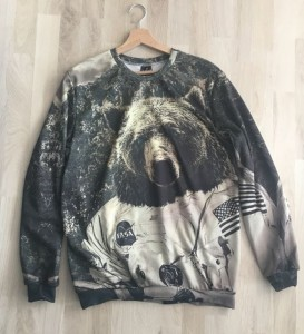 Nasa Bear Bluza
