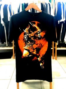 T-shirt męski WITH FIRE AND SWORD