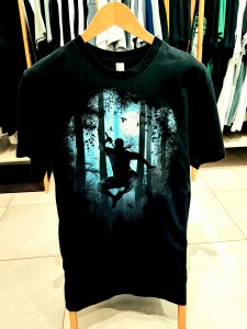 T-shirt męski BLACK NIGHT