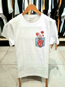 T-shirt męski BEAUTIFUL HEART