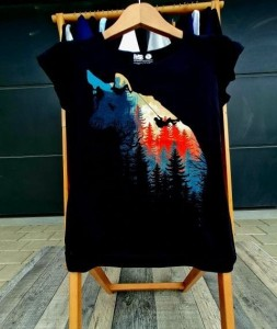 T-shirt damski MOUNTAINS